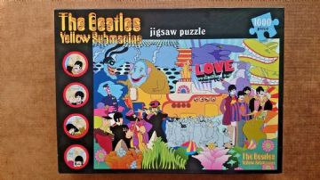 The Beatles Yellow Submarine 1000 Piece Jigsaw Puzzle by Paul Lamond Games